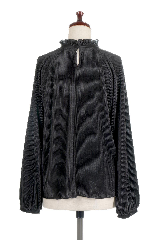 AccordionPleatedBlouseアコーディオンプリーツ・ラグランブラウス大人カジュアルに最適な海外ファッションのothers(その他インポートアイテム)のトップスやシャツ・ブラウス。大人気。アコーディオンプリーツの上品ブラウス。/main-14