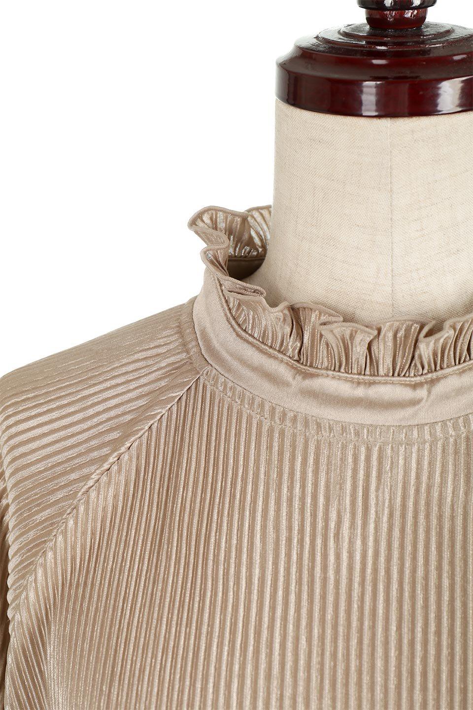 AccordionPleatedBlouseアコーディオンプリーツ・ラグランブラウス大人カジュアルに最適な海外ファッションのothers(その他インポートアイテム)のトップスやシャツ・ブラウス。大人気。アコーディオンプリーツの上品ブラウス。/main-15