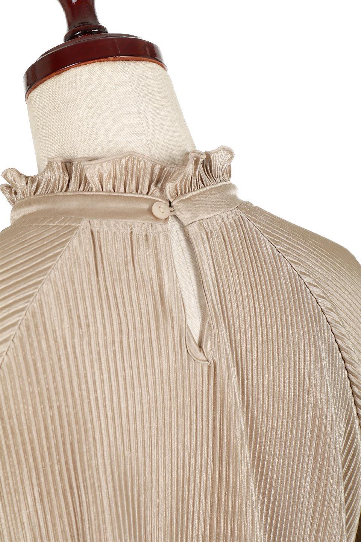 AccordionPleatedBlouseアコーディオンプリーツ・ラグランブラウス大人カジュアルに最適な海外ファッションのothers(その他インポートアイテム)のトップスやシャツ・ブラウス。大人気。アコーディオンプリーツの上品ブラウス。/main-16