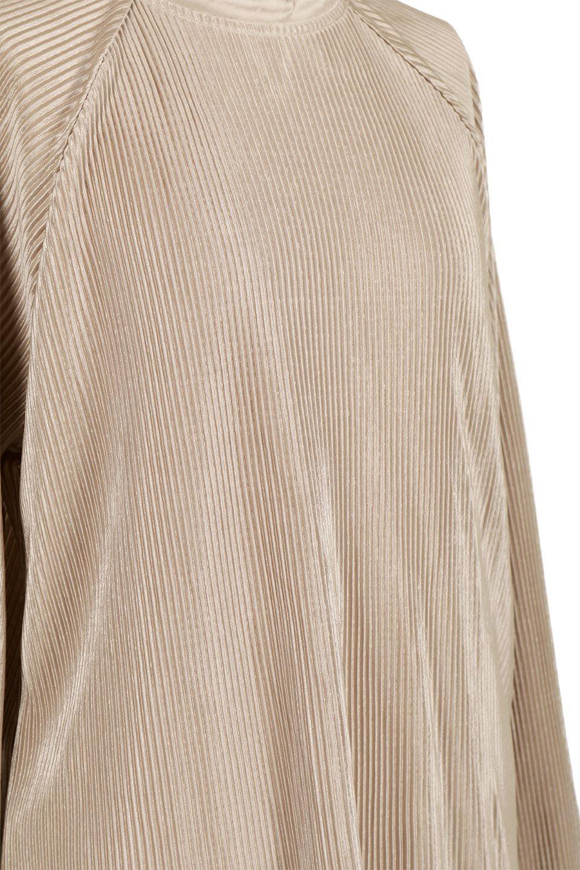 AccordionPleatedBlouseアコーディオンプリーツ・ラグランブラウス大人カジュアルに最適な海外ファッションのothers(その他インポートアイテム)のトップスやシャツ・ブラウス。大人気。アコーディオンプリーツの上品ブラウス。/main-17