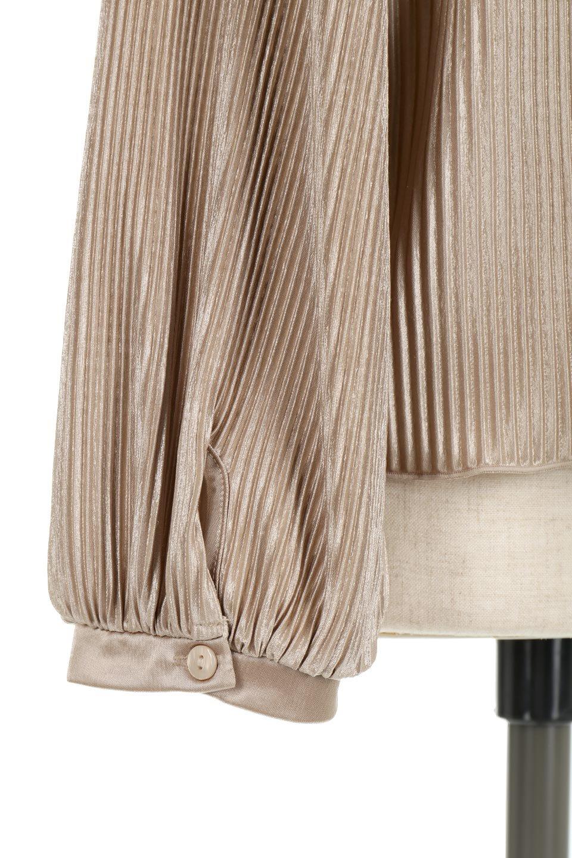 AccordionPleatedBlouseアコーディオンプリーツ・ラグランブラウス大人カジュアルに最適な海外ファッションのothers(その他インポートアイテム)のトップスやシャツ・ブラウス。大人気。アコーディオンプリーツの上品ブラウス。/main-19