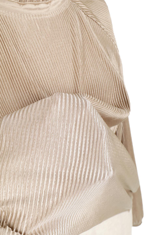 AccordionPleatedBlouseアコーディオンプリーツ・ラグランブラウス大人カジュアルに最適な海外ファッションのothers(その他インポートアイテム)のトップスやシャツ・ブラウス。大人気。アコーディオンプリーツの上品ブラウス。/main-22