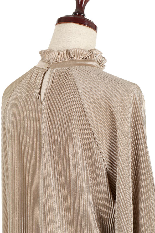AccordionPleatedBlouseアコーディオンプリーツ・ラグランブラウス大人カジュアルに最適な海外ファッションのothers(その他インポートアイテム)のトップスやシャツ・ブラウス。大人気。アコーディオンプリーツの上品ブラウス。/main-23