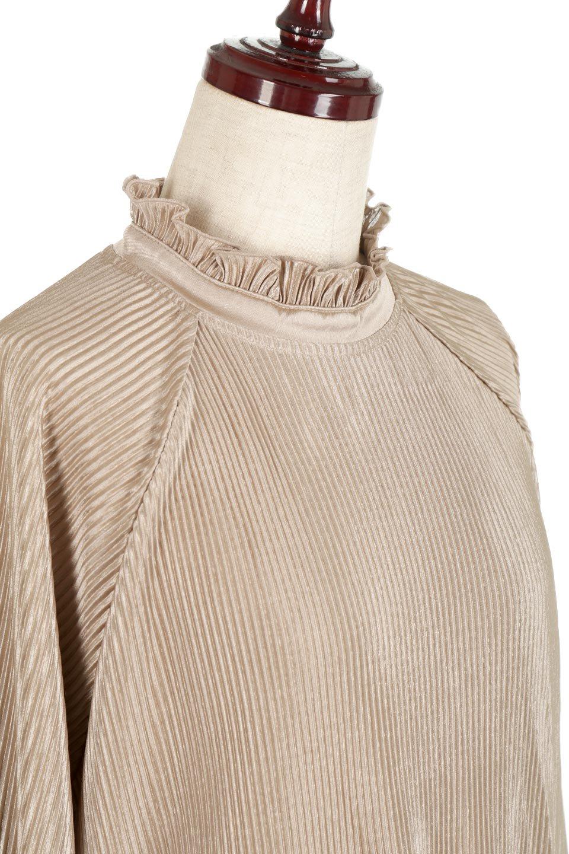AccordionPleatedBlouseアコーディオンプリーツ・ラグランブラウス大人カジュアルに最適な海外ファッションのothers(その他インポートアイテム)のトップスやシャツ・ブラウス。大人気。アコーディオンプリーツの上品ブラウス。/main-24