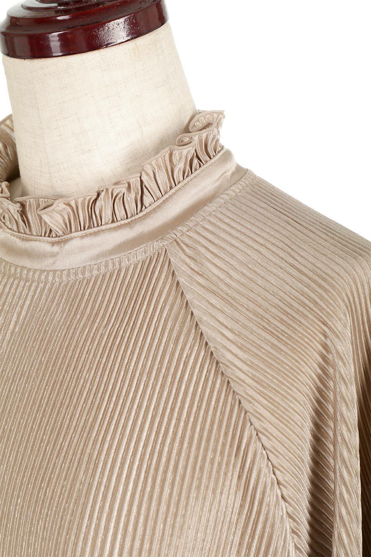 AccordionPleatedBlouseアコーディオンプリーツ・ラグランブラウス大人カジュアルに最適な海外ファッションのothers(その他インポートアイテム)のトップスやシャツ・ブラウス。大人気。アコーディオンプリーツの上品ブラウス。/main-25