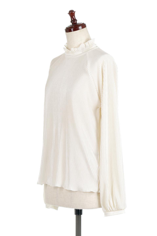 AccordionPleatedBlouseアコーディオンプリーツ・ラグランブラウス大人カジュアルに最適な海外ファッションのothers(その他インポートアイテム)のトップスやシャツ・ブラウス。大人気。アコーディオンプリーツの上品ブラウス。/main-6