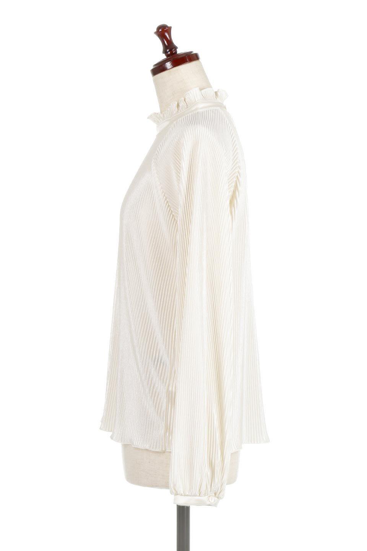 AccordionPleatedBlouseアコーディオンプリーツ・ラグランブラウス大人カジュアルに最適な海外ファッションのothers(その他インポートアイテム)のトップスやシャツ・ブラウス。大人気。アコーディオンプリーツの上品ブラウス。/main-7