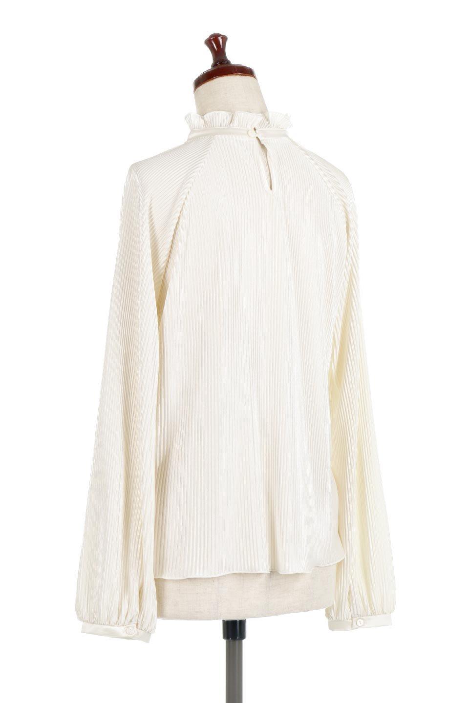AccordionPleatedBlouseアコーディオンプリーツ・ラグランブラウス大人カジュアルに最適な海外ファッションのothers(その他インポートアイテム)のトップスやシャツ・ブラウス。大人気。アコーディオンプリーツの上品ブラウス。/main-8