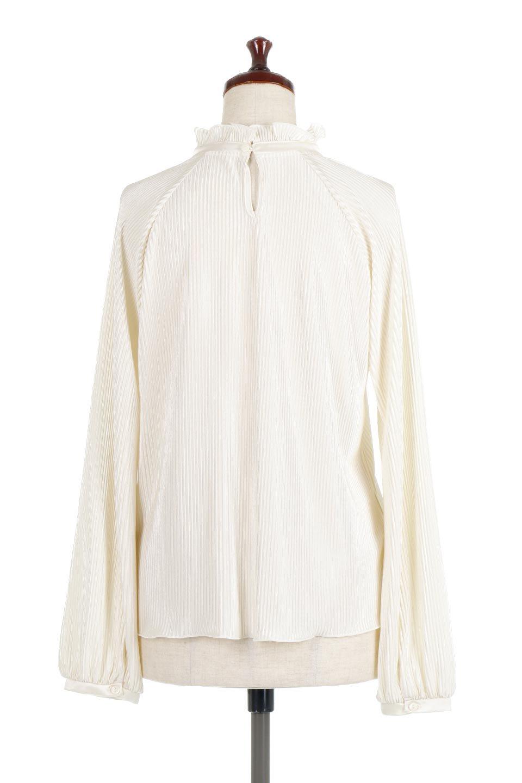 AccordionPleatedBlouseアコーディオンプリーツ・ラグランブラウス大人カジュアルに最適な海外ファッションのothers(その他インポートアイテム)のトップスやシャツ・ブラウス。大人気。アコーディオンプリーツの上品ブラウス。/main-9