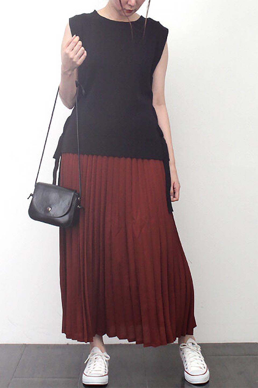 PleatedLongSkirt総プリーツ・ロングスカート大人カジュアルに最適な海外ファッションのothers(その他インポートアイテム)のボトムやスカート。季節を問わず人気のあるプリーツスカート。シックな上品コーデからスニーカーなどと合わせるカジュアルコーデまでこなしてくれます。/main-28