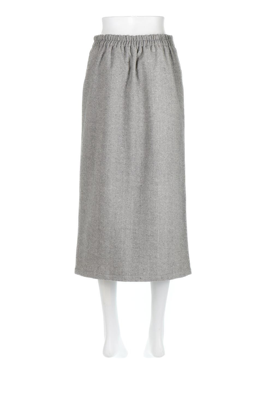 TweedHerringboneSemiTightSkirtツイードヘリンボーン・セミタイトスカート大人カジュアルに最適な海外ファッションのothers(その他インポートアイテム)のボトムやスカート。シックなヘリボーン生地のセミタイトスカート。ややゆとりのあるIラインが特徴の暖かスカートです。/main-14