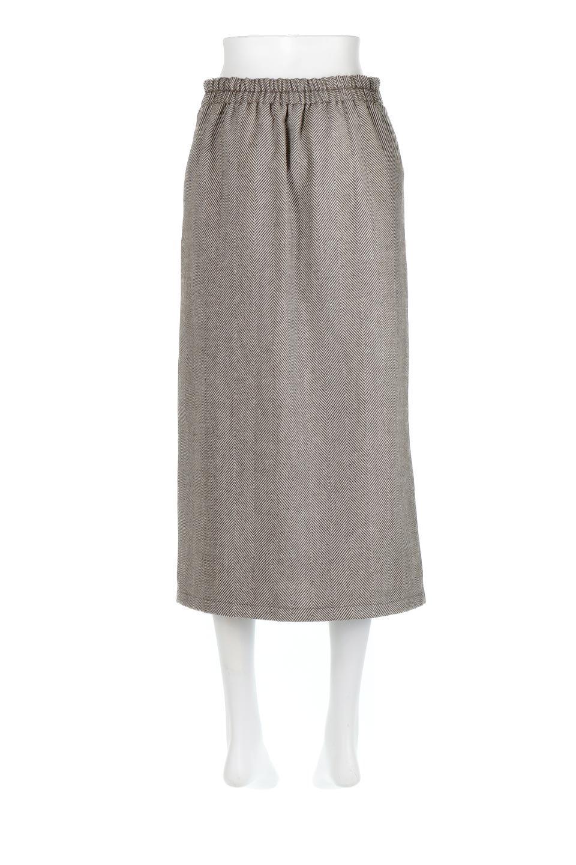 TweedHerringboneSemiTightSkirtツイードヘリンボーン・セミタイトスカート大人カジュアルに最適な海外ファッションのothers(その他インポートアイテム)のボトムやスカート。シックなヘリボーン生地のセミタイトスカート。ややゆとりのあるIラインが特徴の暖かスカートです。/main-19
