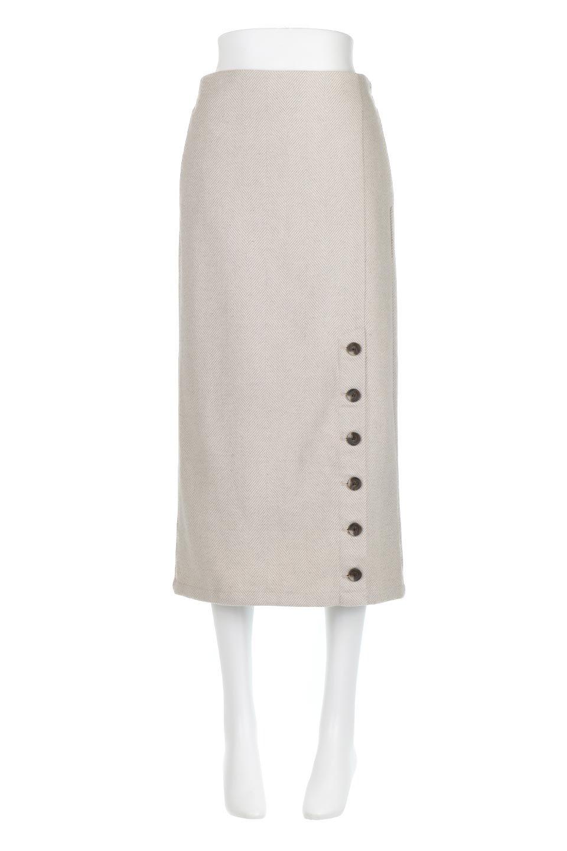 TweedHerringboneSemiTightSkirtツイードヘリンボーン・セミタイトスカート大人カジュアルに最適な海外ファッションのothers(その他インポートアイテム)のボトムやスカート。シックなヘリボーン生地のセミタイトスカート。ややゆとりのあるIラインが特徴の暖かスカートです。/main-5