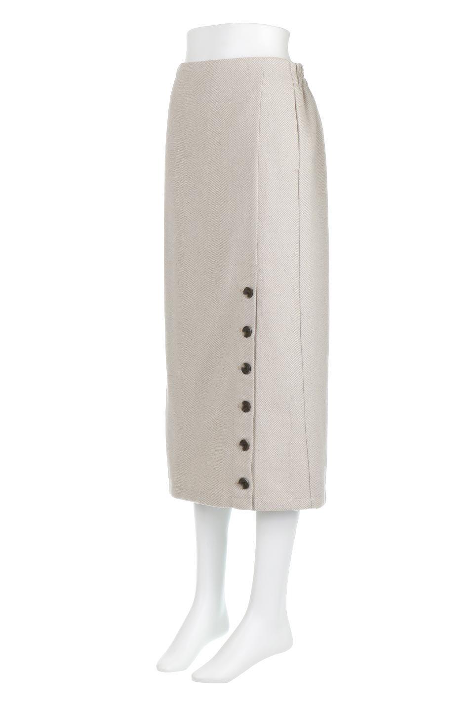 TweedHerringboneSemiTightSkirtツイードヘリンボーン・セミタイトスカート大人カジュアルに最適な海外ファッションのothers(その他インポートアイテム)のボトムやスカート。シックなヘリボーン生地のセミタイトスカート。ややゆとりのあるIラインが特徴の暖かスカートです。/main-6