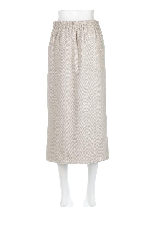 TweedHerringboneSemiTightSkirtツイードヘリンボーン・セミタイトスカート大人カジュアルに最適な海外ファッションのothers(その他インポートアイテム)のボトムやスカート。シックなヘリボーン生地のセミタイトスカート。ややゆとりのあるIラインが特徴の暖かスカートです。/main-9