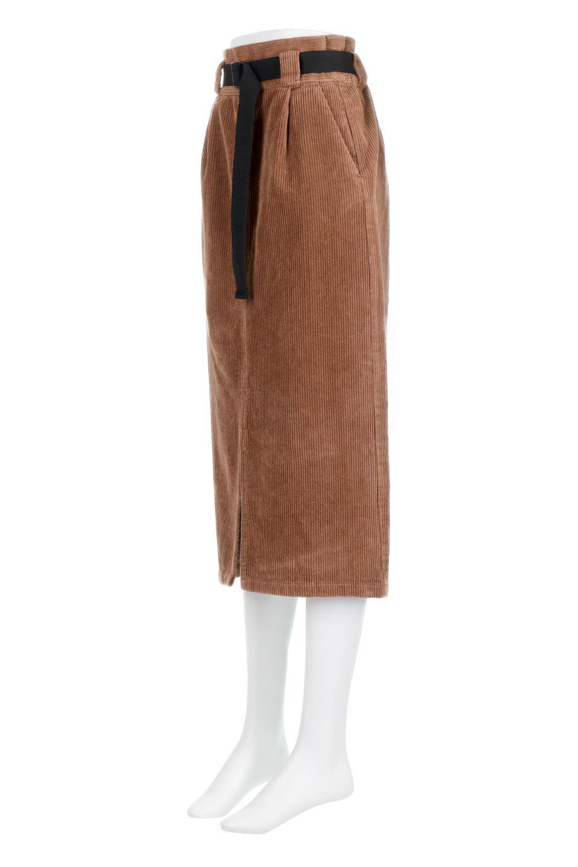 CorduroyLongSkirtw/WebbingBeltベルト付き・コーデュロイスカート大人カジュアルに最適な海外ファッションのothers(その他インポートアイテム)のボトムやスカート。太うねコーデュロイのセミタイトスカート。季節感のある太めのコーデュロイが人気のミディ丈スカート。/main-11