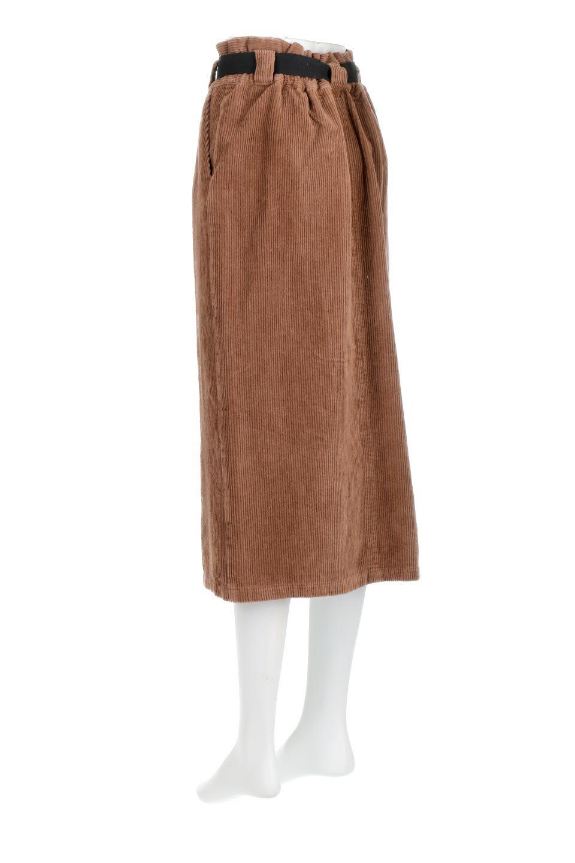 CorduroyLongSkirtw/WebbingBeltベルト付き・コーデュロイスカート大人カジュアルに最適な海外ファッションのothers(その他インポートアイテム)のボトムやスカート。太うねコーデュロイのセミタイトスカート。季節感のある太めのコーデュロイが人気のミディ丈スカート。/main-13