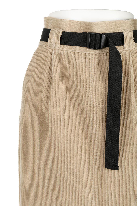 CorduroyLongSkirtw/WebbingBeltベルト付き・コーデュロイスカート大人カジュアルに最適な海外ファッションのothers(その他インポートアイテム)のボトムやスカート。太うねコーデュロイのセミタイトスカート。季節感のある太めのコーデュロイが人気のミディ丈スカート。/main-15