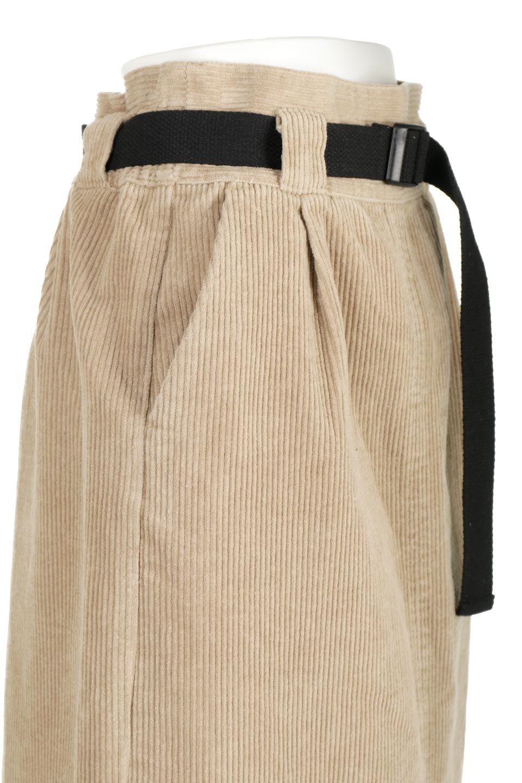 CorduroyLongSkirtw/WebbingBeltベルト付き・コーデュロイスカート大人カジュアルに最適な海外ファッションのothers(その他インポートアイテム)のボトムやスカート。太うねコーデュロイのセミタイトスカート。季節感のある太めのコーデュロイが人気のミディ丈スカート。/main-16