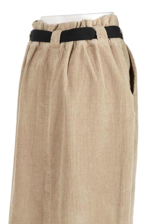 CorduroyLongSkirtw/WebbingBeltベルト付き・コーデュロイスカート大人カジュアルに最適な海外ファッションのothers(その他インポートアイテム)のボトムやスカート。太うねコーデュロイのセミタイトスカート。季節感のある太めのコーデュロイが人気のミディ丈スカート。/main-17