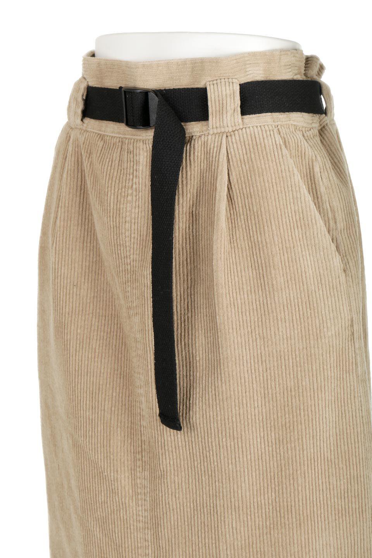 CorduroyLongSkirtw/WebbingBeltベルト付き・コーデュロイスカート大人カジュアルに最適な海外ファッションのothers(その他インポートアイテム)のボトムやスカート。太うねコーデュロイのセミタイトスカート。季節感のある太めのコーデュロイが人気のミディ丈スカート。/main-18