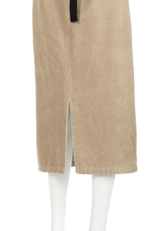 CorduroyLongSkirtw/WebbingBeltベルト付き・コーデュロイスカート大人カジュアルに最適な海外ファッションのothers(その他インポートアイテム)のボトムやスカート。太うねコーデュロイのセミタイトスカート。季節感のある太めのコーデュロイが人気のミディ丈スカート。/main-20