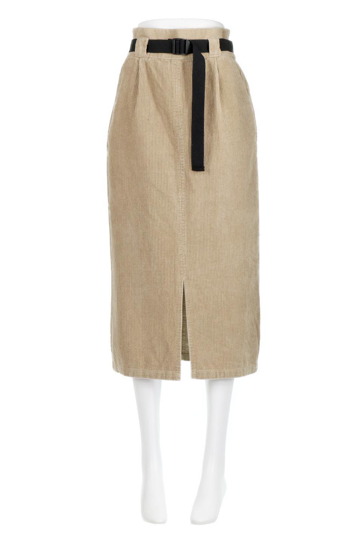 CorduroyLongSkirtw/WebbingBeltベルト付き・コーデュロイスカート大人カジュアルに最適な海外ファッションのothers(その他インポートアイテム)のボトムやスカート。太うねコーデュロイのセミタイトスカート。季節感のある太めのコーデュロイが人気のミディ丈スカート。/main-5