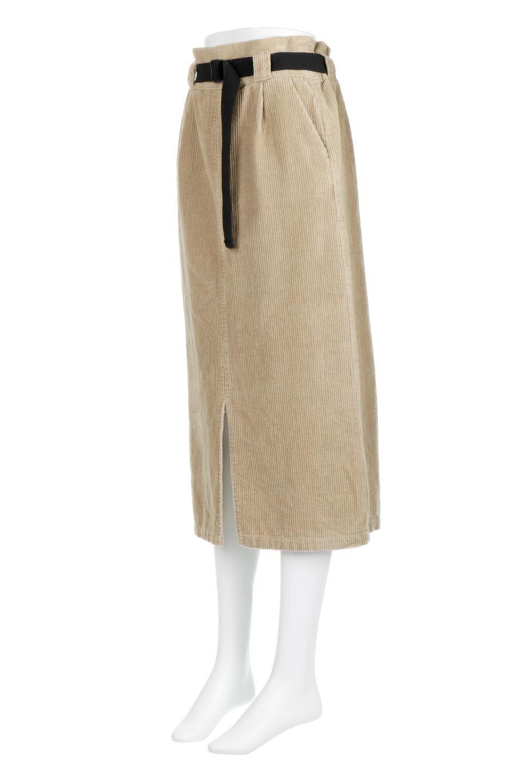 CorduroyLongSkirtw/WebbingBeltベルト付き・コーデュロイスカート大人カジュアルに最適な海外ファッションのothers(その他インポートアイテム)のボトムやスカート。太うねコーデュロイのセミタイトスカート。季節感のある太めのコーデュロイが人気のミディ丈スカート。/main-6