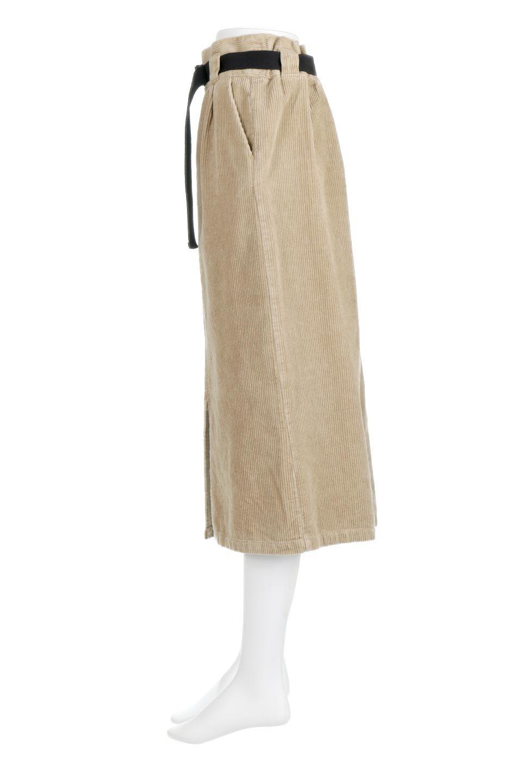 CorduroyLongSkirtw/WebbingBeltベルト付き・コーデュロイスカート大人カジュアルに最適な海外ファッションのothers(その他インポートアイテム)のボトムやスカート。太うねコーデュロイのセミタイトスカート。季節感のある太めのコーデュロイが人気のミディ丈スカート。/main-7