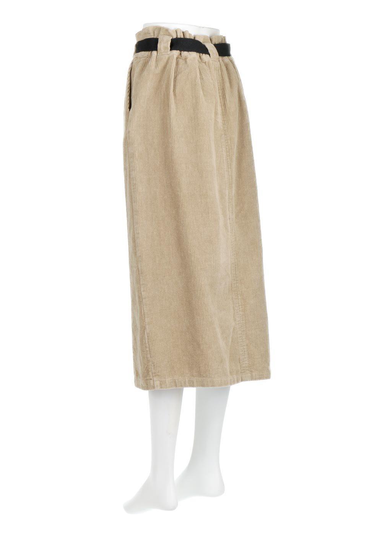 CorduroyLongSkirtw/WebbingBeltベルト付き・コーデュロイスカート大人カジュアルに最適な海外ファッションのothers(その他インポートアイテム)のボトムやスカート。太うねコーデュロイのセミタイトスカート。季節感のある太めのコーデュロイが人気のミディ丈スカート。/main-8