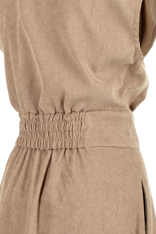 FrenchSleeveCorduroyLongDress細うねコーデュロイ・ロングワンピース大人カジュアルに最適な海外ファッションのothers(その他インポートアイテム)のワンピースやマキシワンピース。コーデュロイのフレンチスリーブが可愛いロングワンピース。センターからずらしたボタンもまた可愛いポイントです。/main-26
