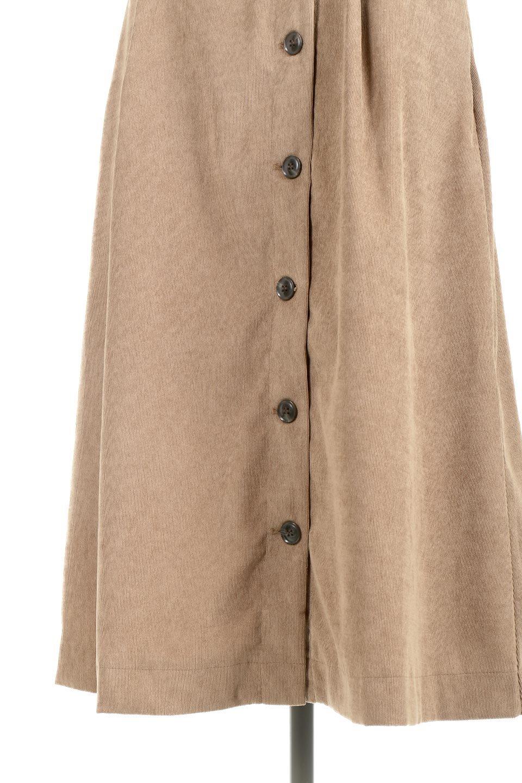 FrenchSleeveCorduroyLongDress細うねコーデュロイ・ロングワンピース大人カジュアルに最適な海外ファッションのothers(その他インポートアイテム)のワンピースやマキシワンピース。コーデュロイのフレンチスリーブが可愛いロングワンピース。センターからずらしたボタンもまた可愛いポイントです。/main-28