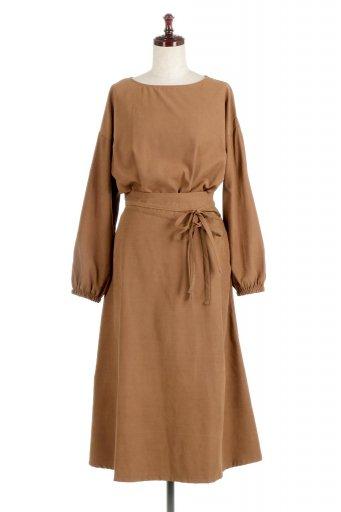 Double Tied Peach Face Maxi Dress ウエストリボン・ピーチフェイスワンピース / 大人カジュアルに最適な海外ファッションが得意な福島市のセレクトショップbloom