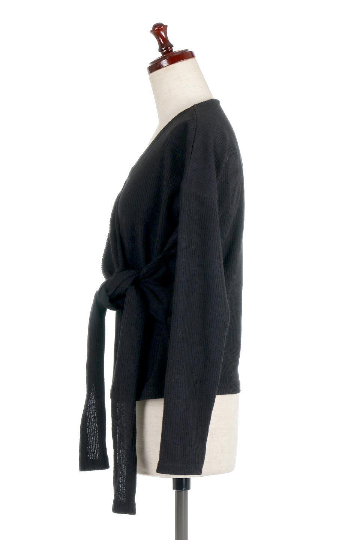 SoftRibKnitCacheCoeurTop起毛リブ・カシュクールトップス大人カジュアルに最適な海外ファッションのothers(その他インポートアイテム)のトップスやニット・セーター。カシュクールデザインが可愛いニットのトップス。カジュアルコーデを上品に見せてくれるリブのカシュクールニットです。/main-17