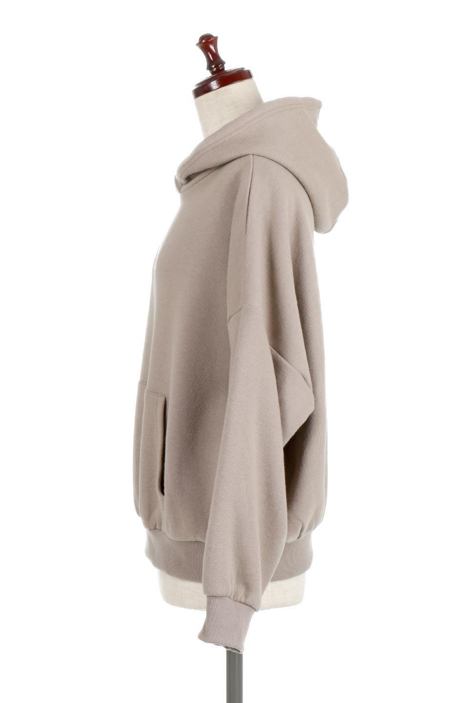 RaisedSweatOverSizedHoodie起毛スウェット・ビッグパーカー大人カジュアルに最適な海外ファッションのothers(その他インポートアイテム)のトップスやカットソー。ソフトなスウェット素材のビッグシルエットパーカ。表面を起毛加工した肌触りの良い生地を使用しています。/main-2