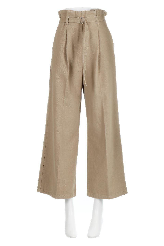 TuckedWideLegPants起毛加工・ワイドパンツ大人カジュアルに最適な海外ファッションのothers(その他インポートアイテム)のボトムやパンツ。合わせやすさ抜群のワイドパンツ。起毛加工された温かみのある素材を使用。