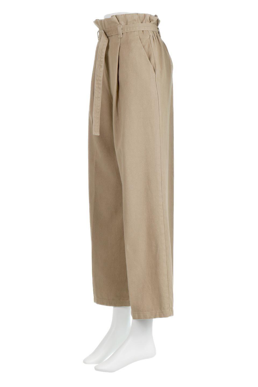 TuckedWideLegPants起毛加工・ワイドパンツ大人カジュアルに最適な海外ファッションのothers(その他インポートアイテム)のボトムやパンツ。合わせやすさ抜群のワイドパンツ。起毛加工された温かみのある素材を使用。/main-1