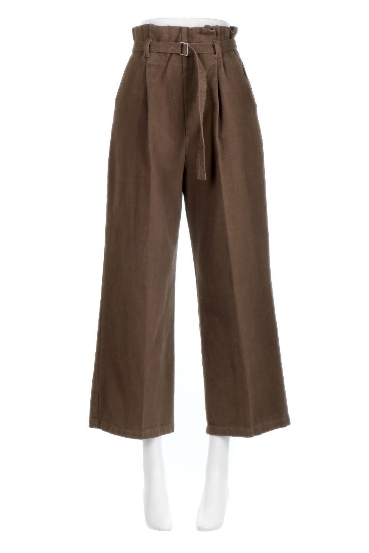 TuckedWideLegPants起毛加工・ワイドパンツ大人カジュアルに最適な海外ファッションのothers(その他インポートアイテム)のボトムやパンツ。合わせやすさ抜群のワイドパンツ。起毛加工された温かみのある素材を使用。/main-10