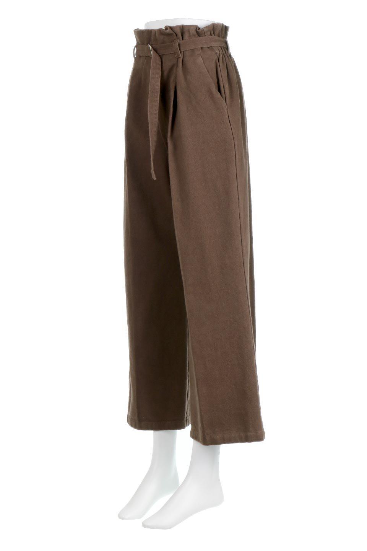TuckedWideLegPants起毛加工・ワイドパンツ大人カジュアルに最適な海外ファッションのothers(その他インポートアイテム)のボトムやパンツ。合わせやすさ抜群のワイドパンツ。起毛加工された温かみのある素材を使用。/main-11