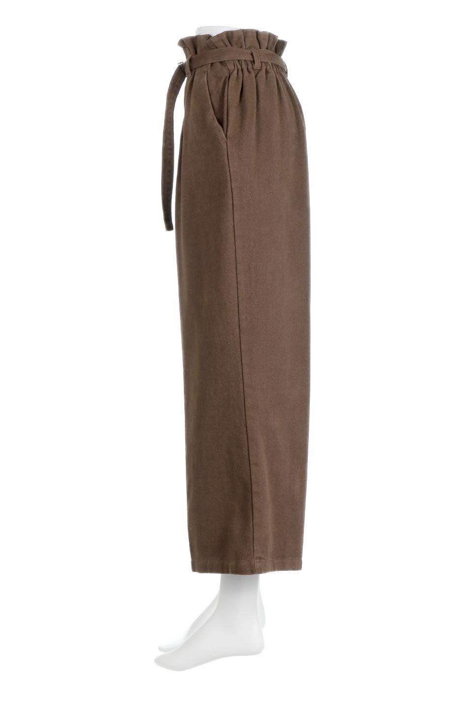 TuckedWideLegPants起毛加工・ワイドパンツ大人カジュアルに最適な海外ファッションのothers(その他インポートアイテム)のボトムやパンツ。合わせやすさ抜群のワイドパンツ。起毛加工された温かみのある素材を使用。/main-12