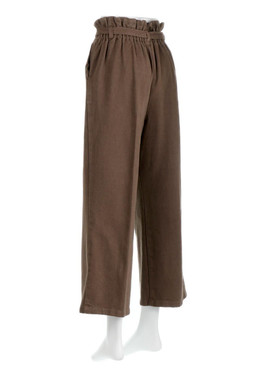 TuckedWideLegPants起毛加工・ワイドパンツ大人カジュアルに最適な海外ファッションのothers(その他インポートアイテム)のボトムやパンツ。合わせやすさ抜群のワイドパンツ。起毛加工された温かみのある素材を使用。/main-13
