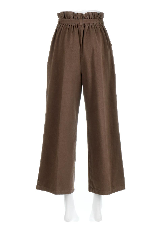 TuckedWideLegPants起毛加工・ワイドパンツ大人カジュアルに最適な海外ファッションのothers(その他インポートアイテム)のボトムやパンツ。合わせやすさ抜群のワイドパンツ。起毛加工された温かみのある素材を使用。/main-14
