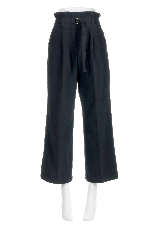 TuckedWideLegPants起毛加工・ワイドパンツ大人カジュアルに最適な海外ファッションのothers(その他インポートアイテム)のボトムやパンツ。合わせやすさ抜群のワイドパンツ。起毛加工された温かみのある素材を使用。/main-15