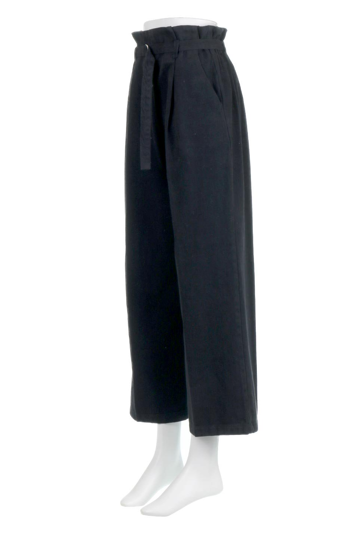 TuckedWideLegPants起毛加工・ワイドパンツ大人カジュアルに最適な海外ファッションのothers(その他インポートアイテム)のボトムやパンツ。合わせやすさ抜群のワイドパンツ。起毛加工された温かみのある素材を使用。/main-16