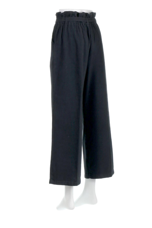 TuckedWideLegPants起毛加工・ワイドパンツ大人カジュアルに最適な海外ファッションのothers(その他インポートアイテム)のボトムやパンツ。合わせやすさ抜群のワイドパンツ。起毛加工された温かみのある素材を使用。/main-18