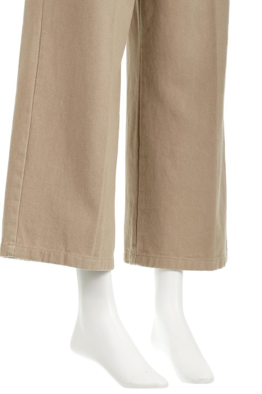 TuckedWideLegPants起毛加工・ワイドパンツ大人カジュアルに最適な海外ファッションのothers(その他インポートアイテム)のボトムやパンツ。合わせやすさ抜群のワイドパンツ。起毛加工された温かみのある素材を使用。/main-24