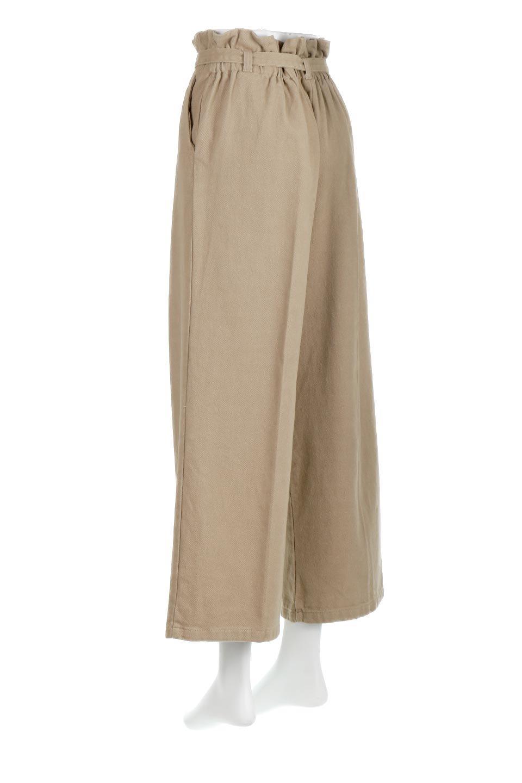 TuckedWideLegPants起毛加工・ワイドパンツ大人カジュアルに最適な海外ファッションのothers(その他インポートアイテム)のボトムやパンツ。合わせやすさ抜群のワイドパンツ。起毛加工された温かみのある素材を使用。/main-3