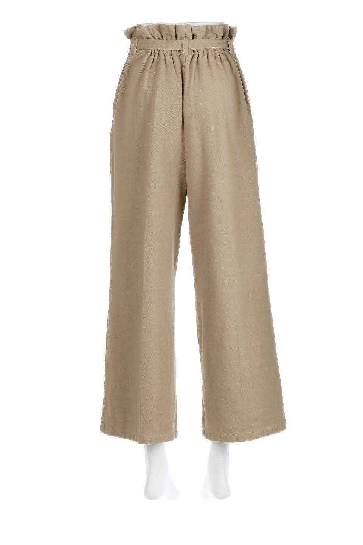 TuckedWideLegPants起毛加工・ワイドパンツ大人カジュアルに最適な海外ファッションのothers(その他インポートアイテム)のボトムやパンツ。合わせやすさ抜群のワイドパンツ。起毛加工された温かみのある素材を使用。/main-4