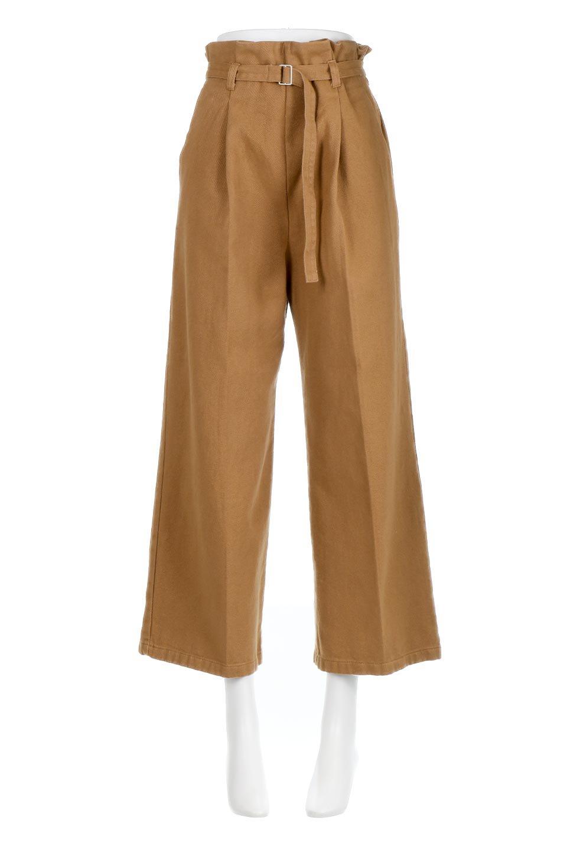 TuckedWideLegPants起毛加工・ワイドパンツ大人カジュアルに最適な海外ファッションのothers(その他インポートアイテム)のボトムやパンツ。合わせやすさ抜群のワイドパンツ。起毛加工された温かみのある素材を使用。/main-5