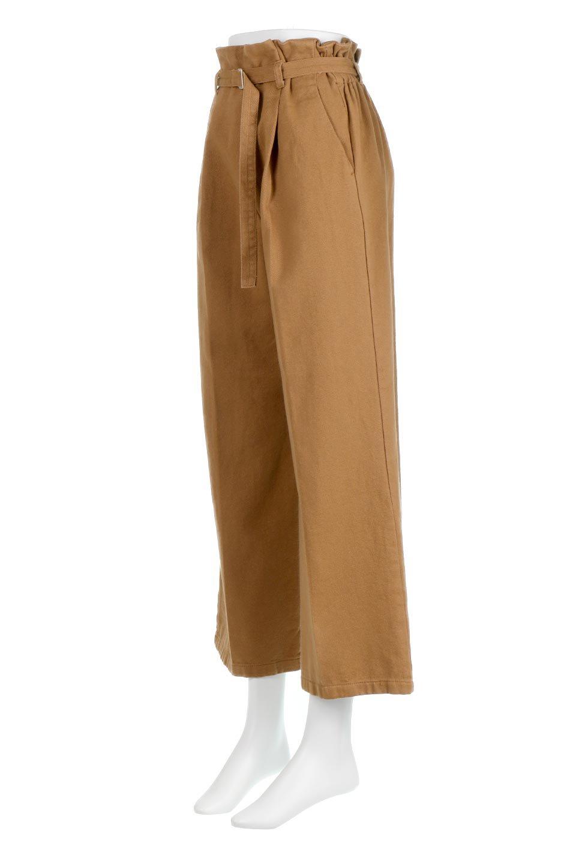 TuckedWideLegPants起毛加工・ワイドパンツ大人カジュアルに最適な海外ファッションのothers(その他インポートアイテム)のボトムやパンツ。合わせやすさ抜群のワイドパンツ。起毛加工された温かみのある素材を使用。/main-6